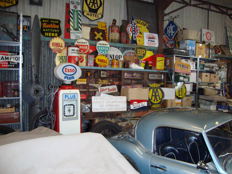 garage themed room ideas - Supplies and hire vintage props and automobilia to themed